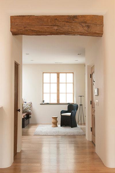 Sabino wood beam salvage