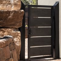 Custom gate by Green Star Builders