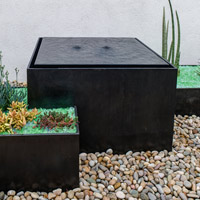 Planter/Fountain Collaboration with Landscape Architect Lee Klopfer
